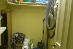 Oaks Custom Laundry Room - Before 2