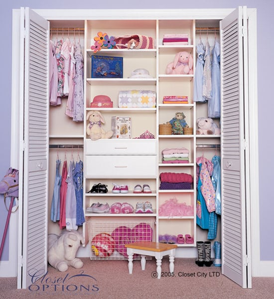 Children's Custom Closet - full