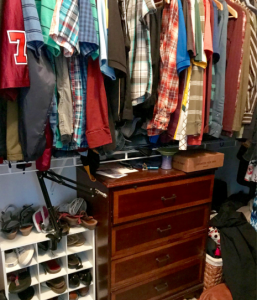 professionally designed closet