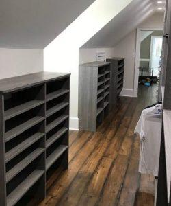 Custom Grey Bedroom Closet