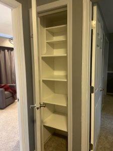 small hallway closet