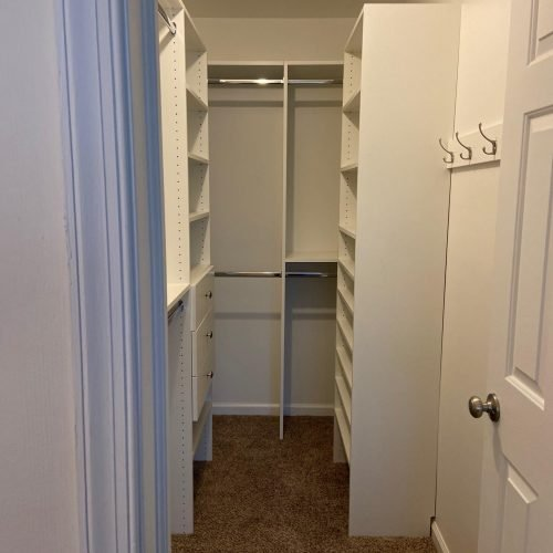Narrow Closet Ideas